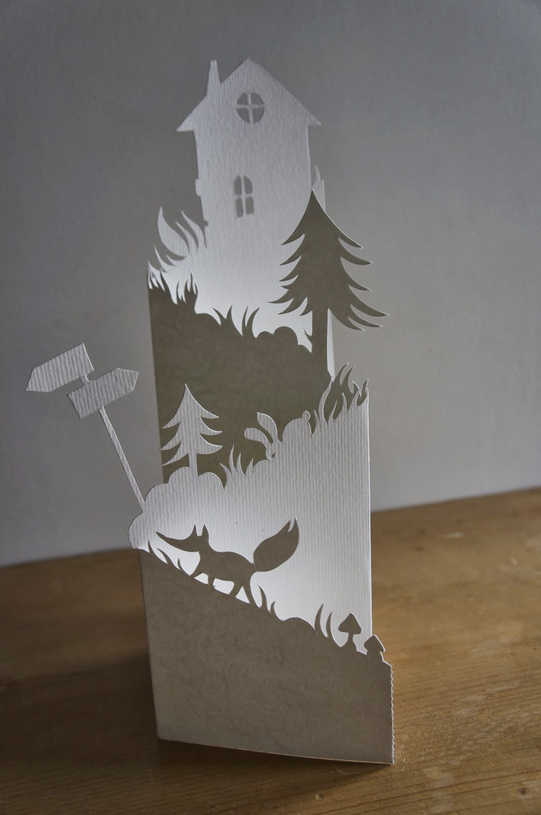 How to make DIY 3d paper tree