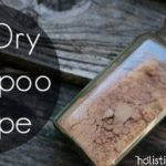 Some recipes to make DIY dry shampoo