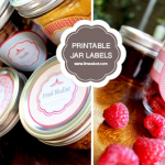 Making DIY jar labels is not very difficult